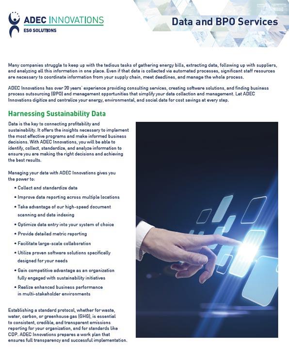 Environmental, Social & Governance (ESG) Solutions   CDP