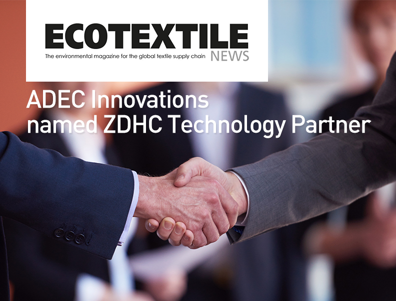 ADEC Innovations Named ZDHC Technology Partner Photo