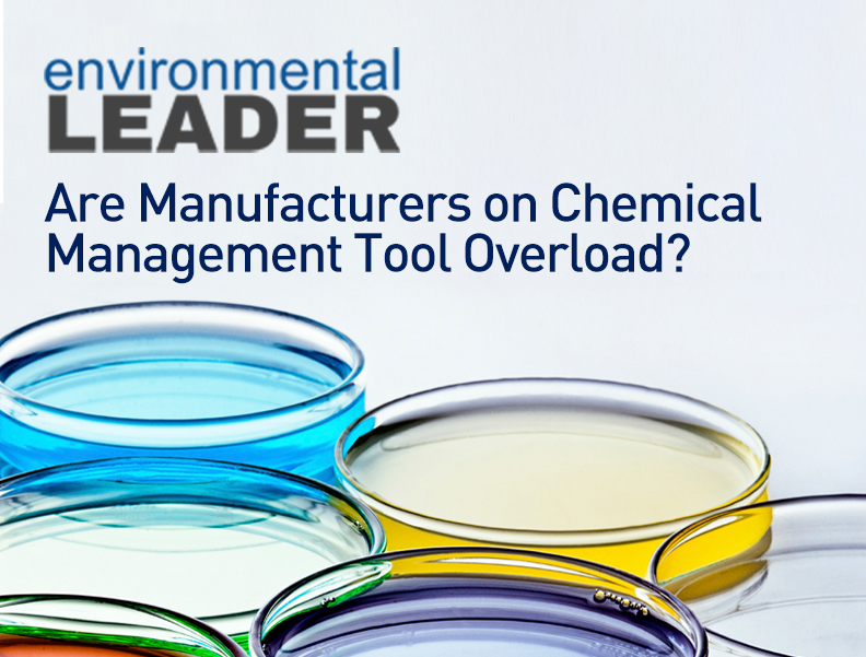 Are Manufacturers on Chemical Management Tool Overload? Photo