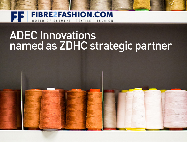 ADEC Innovations Named as ZDHC Strategic Partner Photo