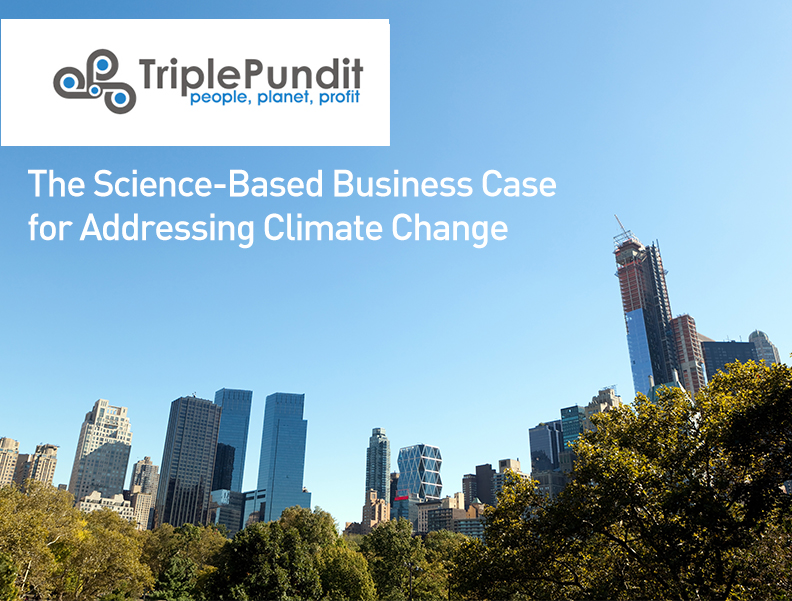 The Science-Based Business Case for Addressing Climate Change Photo