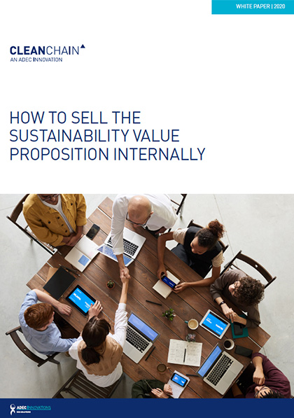 How To Sell The Sustainability Value Proposition Internally Photo