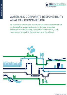 Water and Corporate Responsibility What Can Companies Do? Photo
