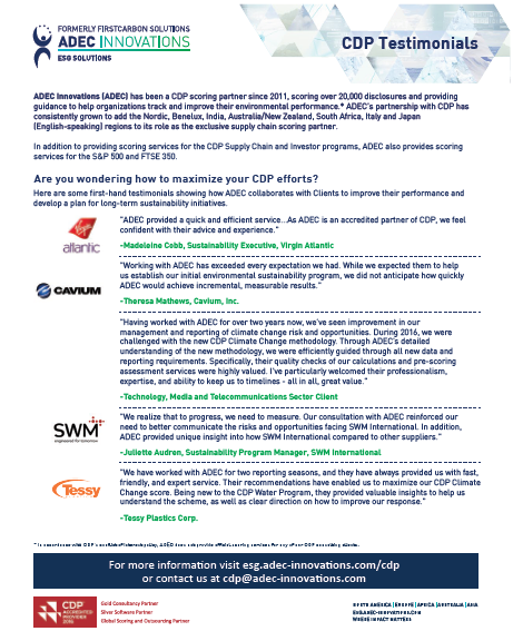CDP Testimonials One-Sheet Image