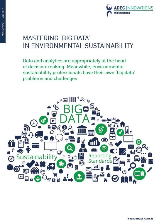 Mastering 'Big Data' In Environmental Sustainability Photo