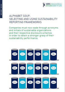 Alphabet Soup: Selecting and Using Sustainability Reporting Frameworks Photo