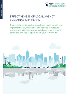 Effectiveness of Local Agency Sustainability Plans Photo