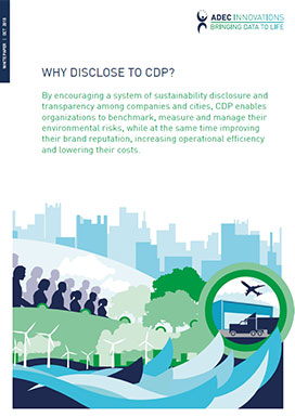 Why disclose to CDP? Photo